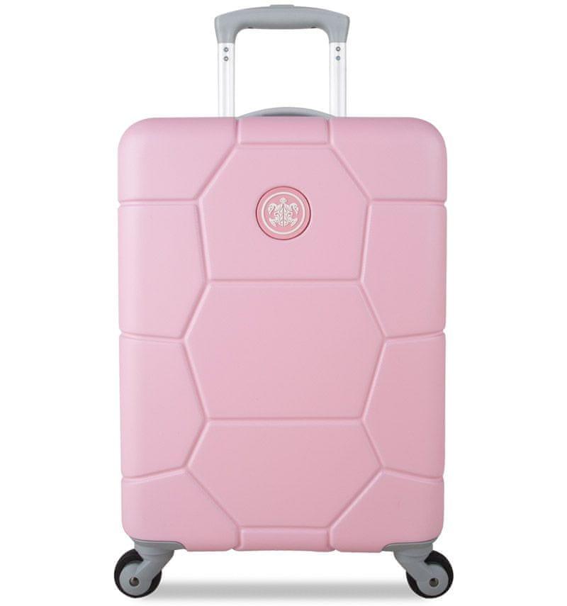 SuitSuit Cestovní kufr Caretta S Pink Lady