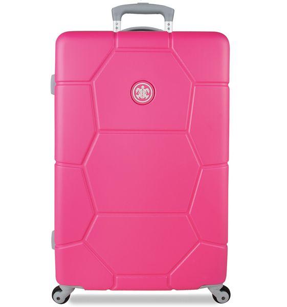 SuitSuit Cestovní kufr Caretta M Shocking Pink