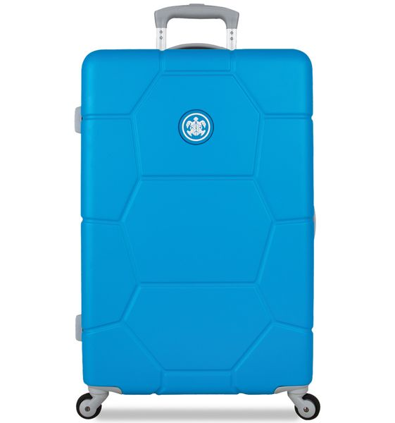 SuitSuit Cestovní kufr TR-1228/3-M ABS Caretta Blue Mint