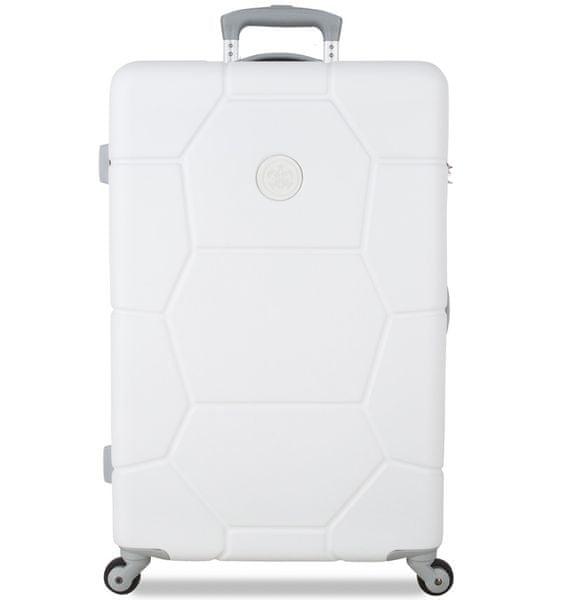 SuitSuit Cestovní kufr Caretta M Sea Shell White