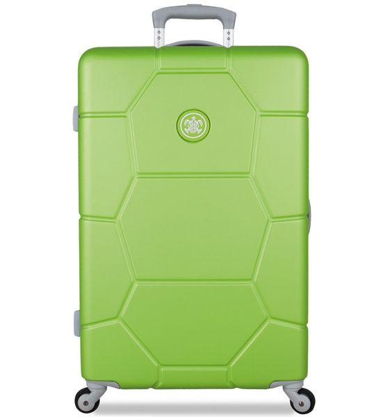 SuitSuit Cestovní kufr TR-1229/3-M ABS Caretta Bright Lime