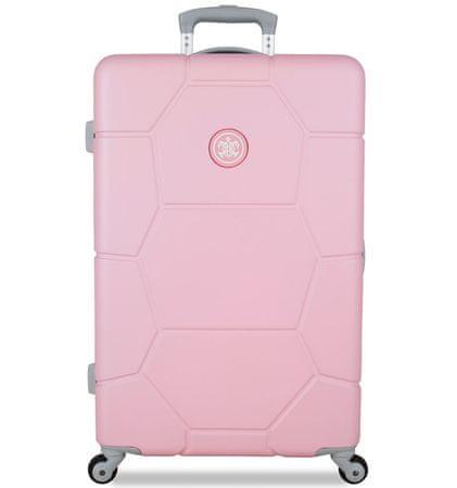 SuitSuit potovalni kovček Caretta M Pink Lady, svetlo roza