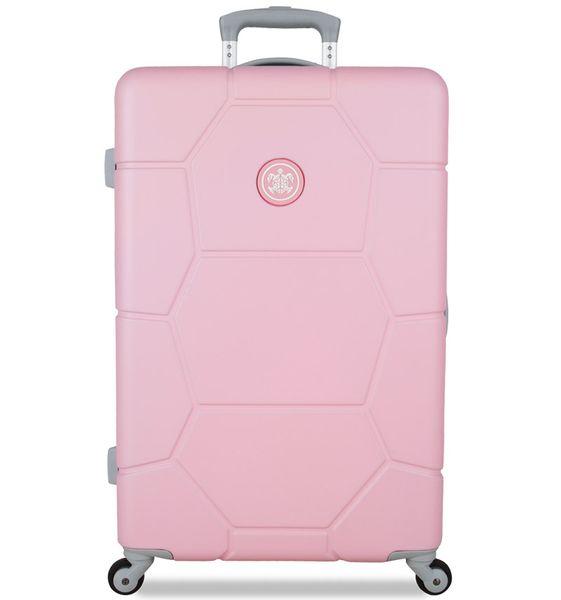 SuitSuit Cestovní kufr Caretta M Pink Lady