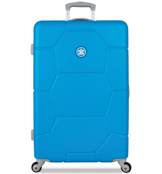 SuitSuit Cestovní kufr TR-1228/3-L ABS Caretta Blue Mint