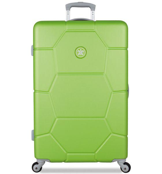 SuitSuit Cestovní kufr Caretta L Bright Lime