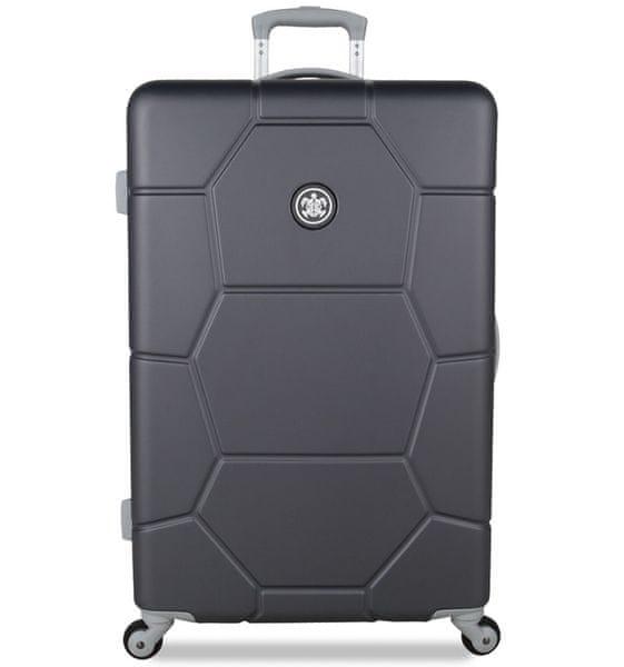 SuitSuit Cestovní kufr TR-1226/3-L ABS Caretta Cool Grey