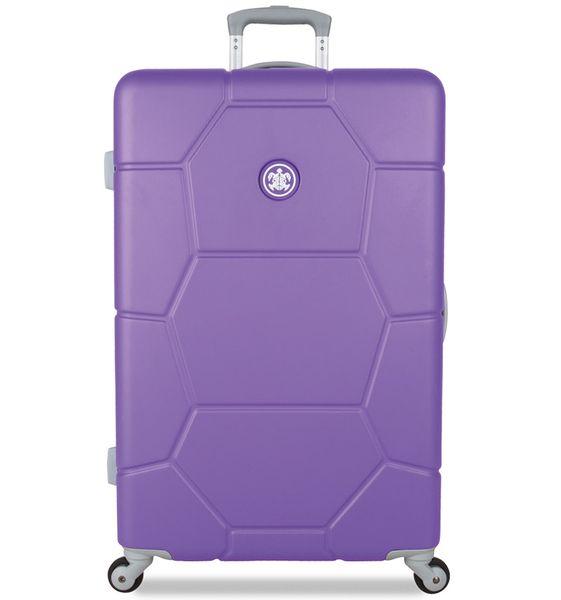 SuitSuit Cestovní kufr TR-1230/3-L ABS Caretta Purple Heart