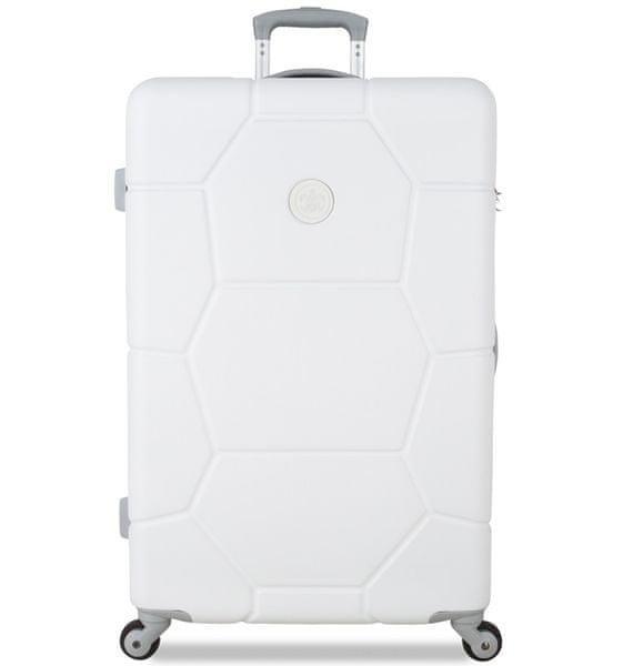 SuitSuit Cestovní kufr Caretta L Sea Shell White