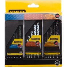 Stanley Vrtáky do kovu/muriva/dreva, sada 16 ks (STA56045-QZ)