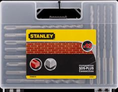 Stanley zestaw wierteł do betonu, 12 elementów