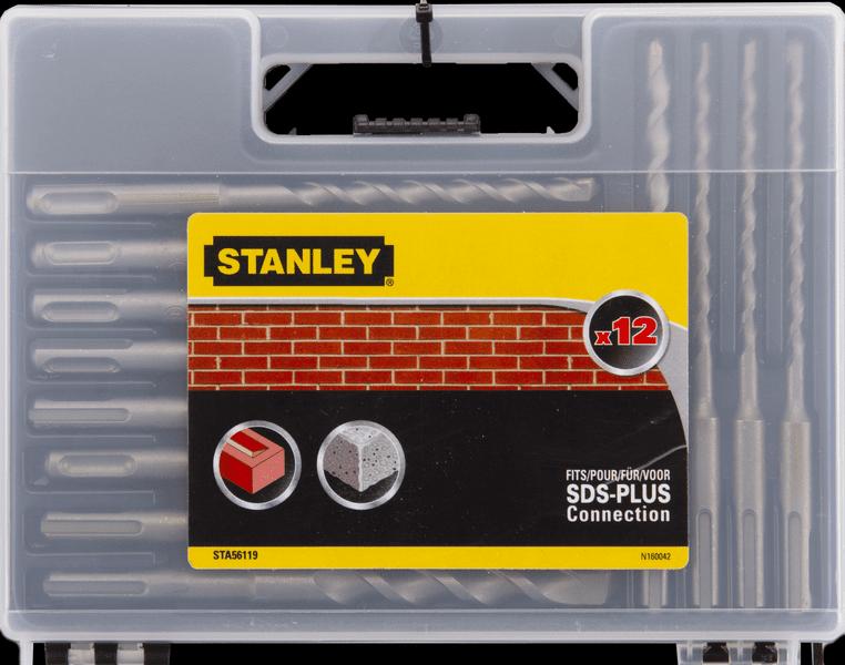 Stanley Vrtáky do betonu SDS+ 3xØ6, 3xØ8, 3xØ10