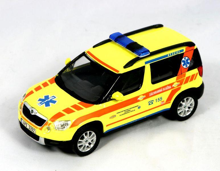 Abrex Škoda Yeti - ZZS Plzeňského kraje