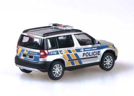 Abrex Škoda Yeti - Polícia ČR