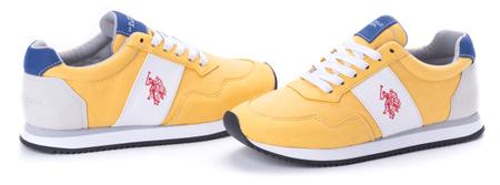 U.S. Polo Assn. dámské tenisky Natty 40 žlutá