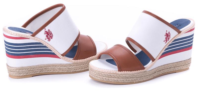 U.S. Polo Assn. dámské pantofle Nunzia 41 bílá