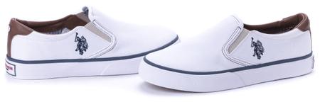 U.S. POLO ASSN. dámské slip-on tenisky Nova 39 bílá