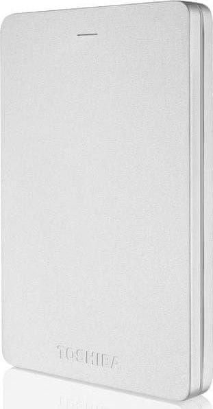"TOSHIBA Canvio Alu 3S 500GB / Externí / USB 3.0 / 2,5"" / Silver (HDTH305ES3AA)"
