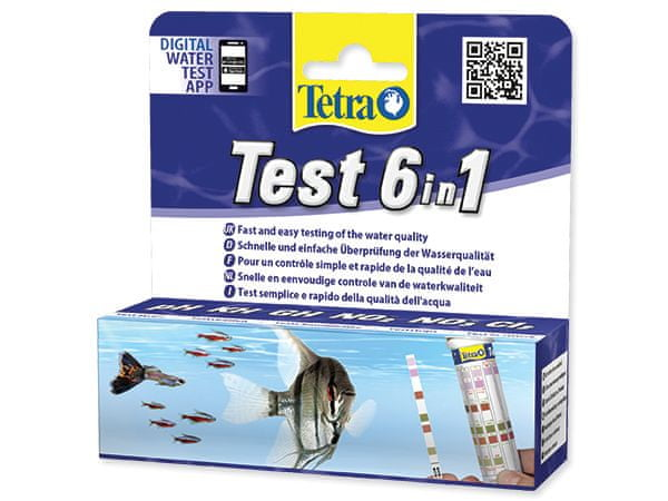Tetra Test 6in1 (25 ks)