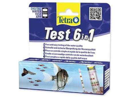 Tetra set za testiranje akvarijske vode Test 6in1