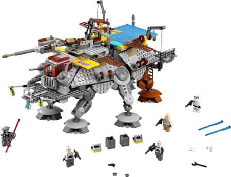 LEGO Star Wars 75157 AT-TE stotnika Rexa