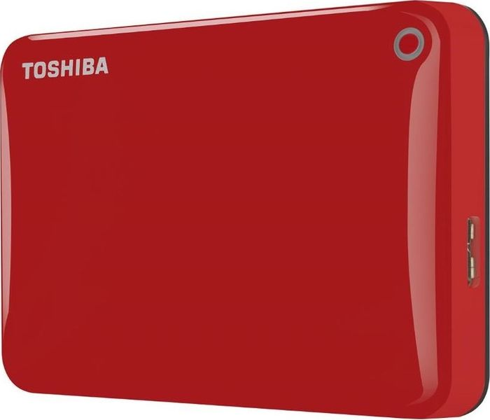 "TOSHIBA Canvio Connect II 2TB / Externí / USB 3.0 / 2,5"" / Red (HDTC820ER3CA)"