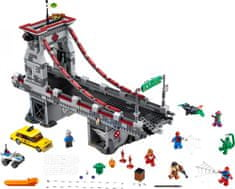 LEGO® Super Heroes 76057 Spiderman:Velika bitka Web Warriora na mostu