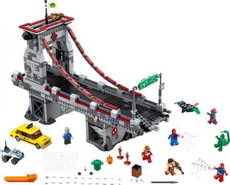 LEGO Super Heroes 76057 Spiderman:Velika bitka Web Warriora na mostu