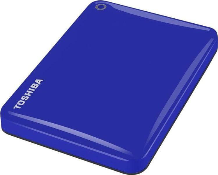 "TOSHIBA Canvio Connect II 2TB / Externí / USB 3.0 / 2,5"" / Blue (HDTC820EL3CA)"