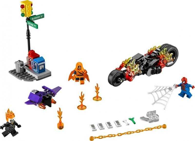 LEGO® Super Heroes 76058 Spiderman: Ghost Rider vstupuje do týmu