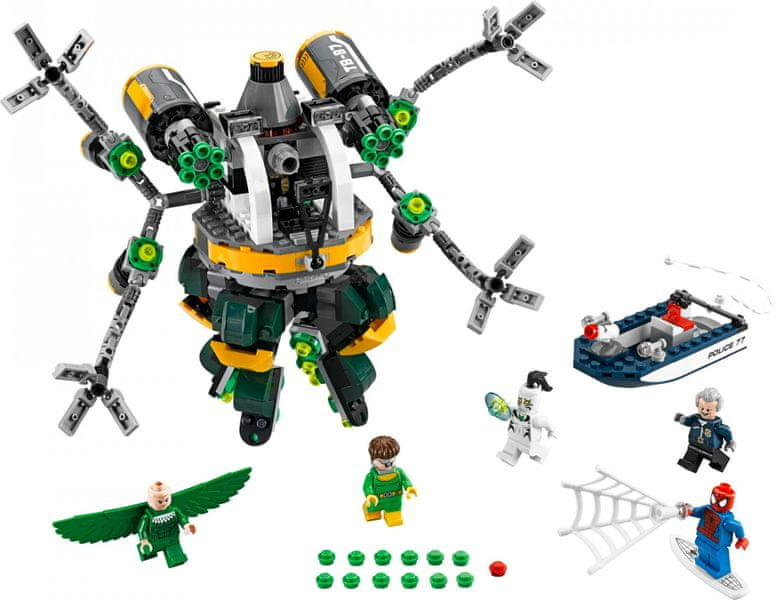 LEGO® Super Heroes 76059 Spiderman: Past z chapadel doktora Ocka