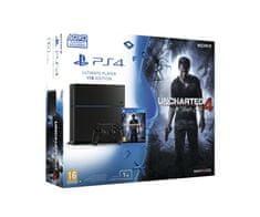 Sony igralna konzola Playstation 4, 1TB + Uncharted 4:ATE
