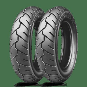 Michelin pneumatik 100/90-10 56J S1