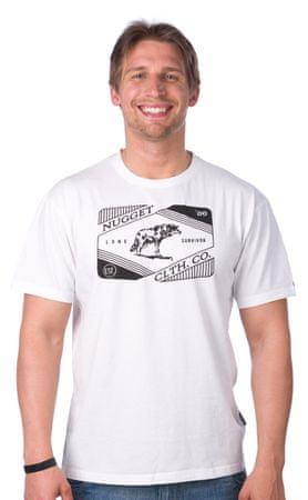 Nugget moška majica Survivor L bela
