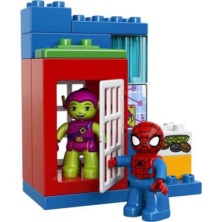 LEGO DUPLO® 10608 Spidermanova pustolovščina s tovornjakom