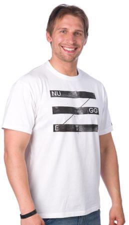 Nugget moška majica Stride L bela