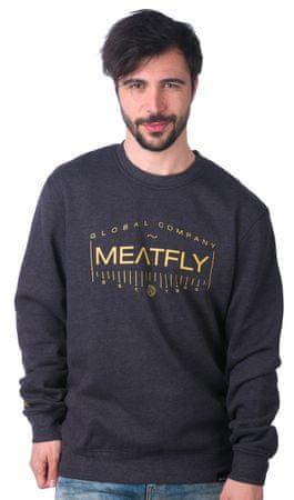 MEATFLY moška jopica Bevel XL siva