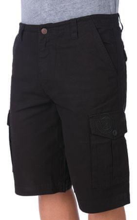 MEATFLY moške kratke hlače Icon 36 črna