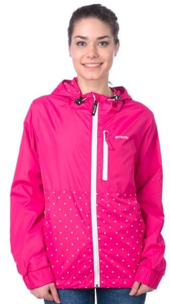 MEATFLY dámská streetová bunda Sarah XS růžová