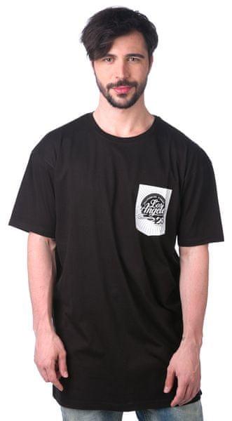 Brave Soul pánské tričko Mash M černá