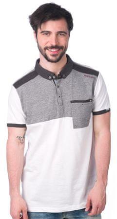 Brave Soul moška polo majica Dorne XL bela