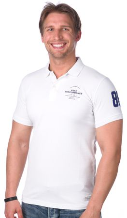 PeakPerformance pánská polokošile XL biela