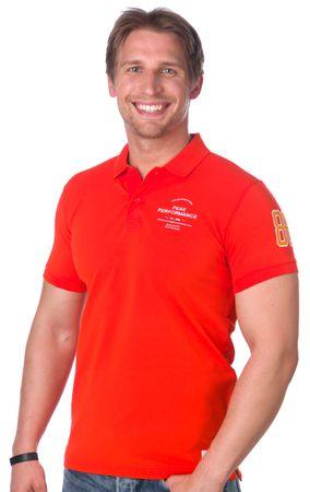 PeakPerformance pánská polokošile XL oranžová