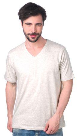 Brave Soul férfi póló Saint L szürke