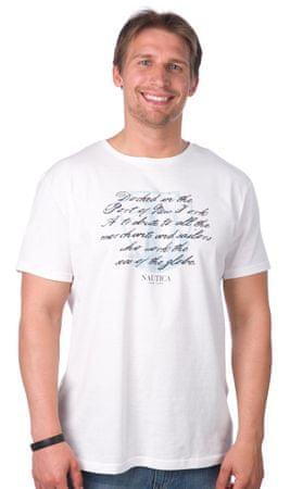 Nautica pánské tričko L bílá