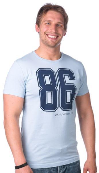 Peak Performance pánské tričko M modrá