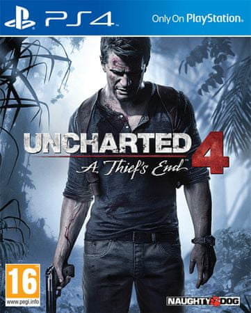 Sony Uncharted 4: A Thief's End, PS4