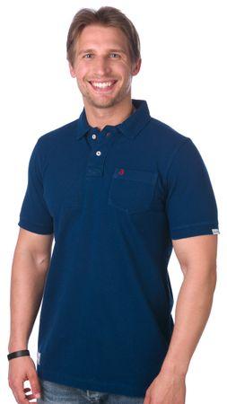 Brakeburn moška polo majica M temno modra