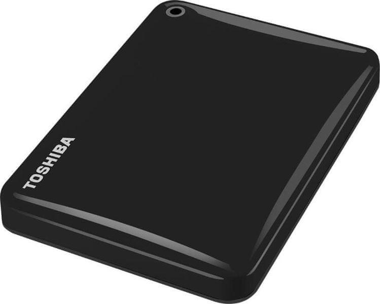 """TOSHIBA Canvio Connect II 3TB / Externí / USB 3.0 / 2,5"""" / Black (HDTC830EK3CA)"""