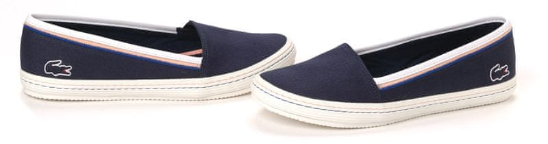 Lacoste dámské slip-on-tenisky 36 tmavě modrá