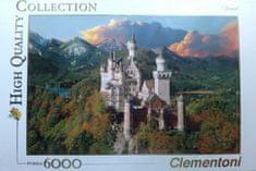 Clementoni Puzzle Zamek Neuschwanstein 6000 el.
